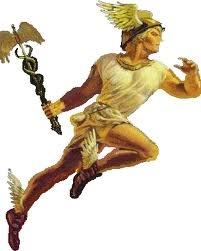 04 - Por ejemplo, en la mitología griega interpreta el papel el famoso Hermes, el hijo de Zeus y de la náyade Maya, que desde su nacimiento en la cumbre de la montaña Cilino, en Arcadia, dio señales de  su creatividad y simpatía, invento la lira y con ella pudo deleitar a cuanta persona lo escuchaba. Por otro lado,  valiéndose de su facultad de adivinación ayuda a todos con igual sagacidad y prudencia, les enseña oficios, especialmente relacionados con la agricultura y el campo.