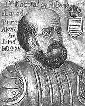 27 – (1533)  26 de Octubre. Don Nicolás de Ribera el Viejo recibe la orden de bajar a la costa